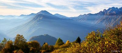 Осень в Словении